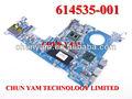 Bajo precio 614535-001 5220m probook con/i5-520m de la cpu del ordenador portátil pc portátil la placa base del sistema para hp compaq junta prueba bien de alta q