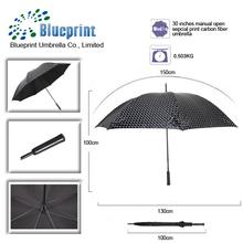 fashional carbon fiber anti-sun new style golf umbrella