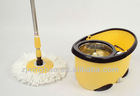 fashionable hurricane magic mop Magic spin mop dual cleaning & drying system
