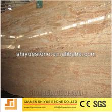 Natural Polished Sahara Gold Granite Slab