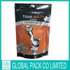 bottom gusset plastic pet food bag with top reseal/hot sale pet dog food bag