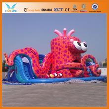 Hot sale inflatable octopus slide