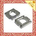 naturale argento anodizzato alluminio parti fresatura cnc