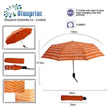 customized ladies magic wet unique design rain umbrellas