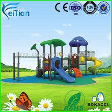 Creative kids plastic playground outdoor playhouse
