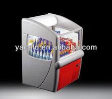 ice cream display refrigerator