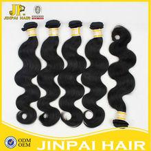 Best quality hair in china full cuticle human weaving virgin peruvian hair