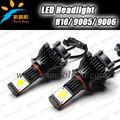 2014 nouvelle mise à jour Super lumineux 50 W 3600 Lumen LED phare 9005, 9006, H10 Xenon HID LED phare de voiture kit C REE