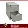 pocket metal 2 tier drawer cabinet on table top / light grey mini 2 drawer steel file storage boxes