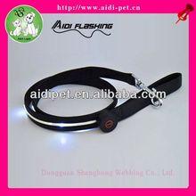 LED luminous easy walk dog leash