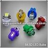 B8.5D 1 SMD Dashboard Light/B8.5 1 LED Auto Bulb/T8.5 Twist Lock LED bulbs White