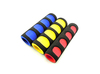 Double color foam grips for baby carriage