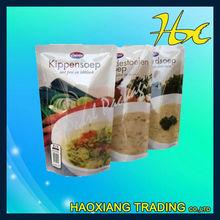 pva water soluble plastic bag plastic bag rack opp/cpp plastic bag for dry food