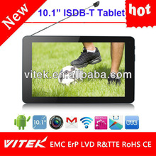 Hot 10.1inch Android dual core digital tablet pc tv gps gsm