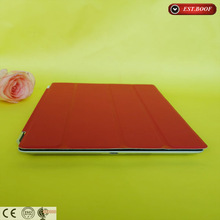 red PU leather case for ipad mini,face covers with magnet for ipad mini