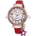 vintage pingente estrela de cristal moda feminina relógios de diamante