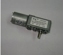3247 gw dc worm gear deceleration motor vending machine electric valve automatic door card delivery
