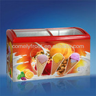 268L The Newest Ice Cream For Sales Freezer Glass Door SD/SC-268Y
