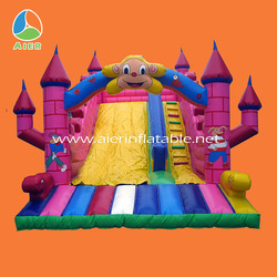 2014 Newest children's party inflatable slip n slide