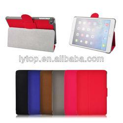 Stand Flip leather case for ipad mini Retina