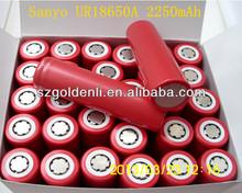 new original and hot sale SANYO UR18650A 2250mah battery