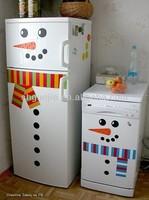 Snowman Fridge Sticker