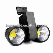 82-90 ra Taiwan Epistar cob led track spotlight 60w 5200lm-5800lm AC 100V-277V CE & RoHS FCC SAA ERP