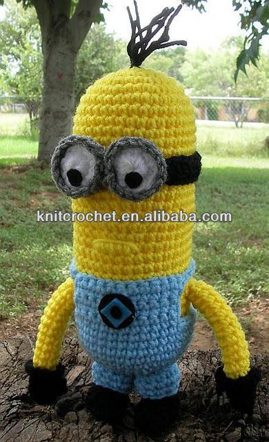 Amigurumi Minion Deutsch : Crochet Minion,Amigurumi Minion,Crochet Despicable Me ...