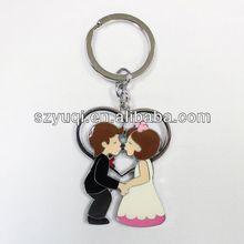 Yours gift promotional wedding couple keychain