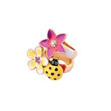 Stock Jewelry Market Enamel Jeweled Rings SJR#-52-a