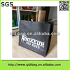 2014 new low price promotional non woven bottle tote bag