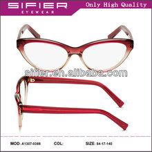 Fashionable High Quality Vintage Cat Eye Glasses Frame Glasses Cat Eye