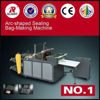 recycled plastic bag making machine/pvc bag machine/arc shaped bag making machine