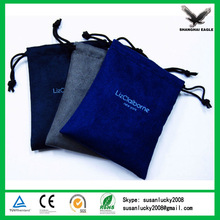 High Quality Custom Golf Tees and Golf Balls Velvet Drawstring Pouch Bag Imprint Your Logo (directly from factory)