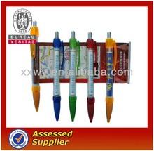 hot sale promotional pen/plastic banner pen/flag ball pen