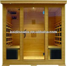 KD5004SCB Hemlock Far Infrared Wooden Sauna Box