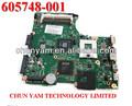 Presario 605748-001 620 cq620 intel de la serie de la placa base del ordenador portátil la placa del sistema para hp compaq 100% 100% probado ok