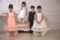 2014 populares niña de flores de la boda vestido y traje chico