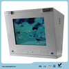 17 inch 1000nits dual screen outdoor lcd gas station equipment