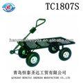 de superficie plana jardín carrito tc1807s wagon