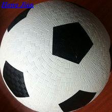 sports factory 2014 china football Playground ball 8.5''