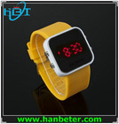 Fashion digital mirror face colorful 2014 trendy silicone sport watches men