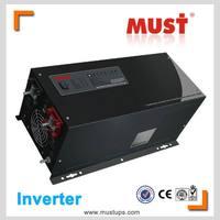 Charge current adjustable LCD 12v one world inverter