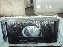 Prefab granite countertop black galaxy granite price