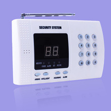 Most popular LED instruction alarm system & 2014 home security motion sensor alarm infrared remote with low cost KI-2700A