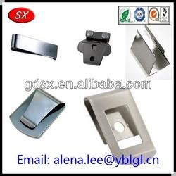 Dongguan factory flat paper clips/flat cable clip/flat metal paper clip