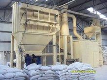 Polvo de carbonato de calcio rectificadora