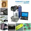 metal cufflinks Fiber laser marking machine