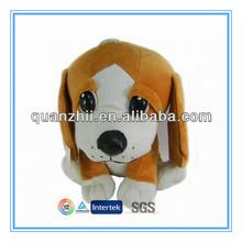 Plush big head dog stuffed toys with high quality