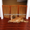Indoor Folding Wooden pet friendly baby gate / Pet Safty Gate